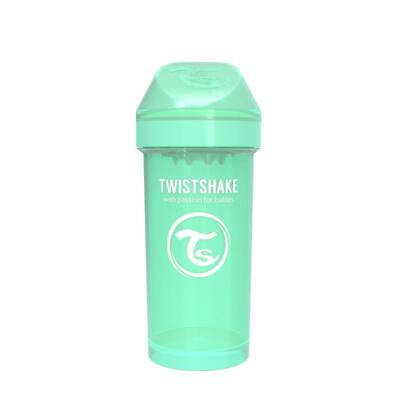 TwistShake Kid Cup Sippy Cup (Pastel Green) Free Shipping!