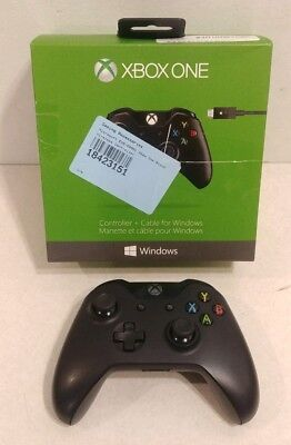 Microsoft Xbox One Wireless Controller Black Xbox One 1537 AS IS BROKEN PARTS #2
