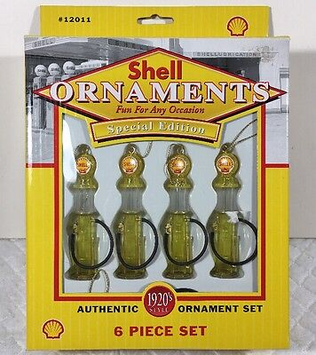 New In Box Shell Special Edition Ornament Set