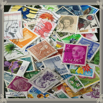 Various Stamp Valuable All Over The World Old Stamps Collection Postage Random