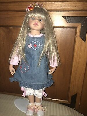"Paradise Galleries ""Kendall"" Toddler Size Doll"