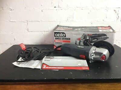 "Ozito angle grinder. 100mm Reservoir Vic 3073 4"" 850W motor. Reservoir Vic 3073"