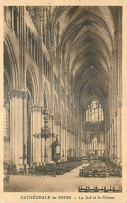 51 Reims Cathedrale Nef Et Choeur