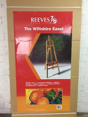Reeves Wiltshire studio painting drawing easel. Brand new in box. Reservoir 3073