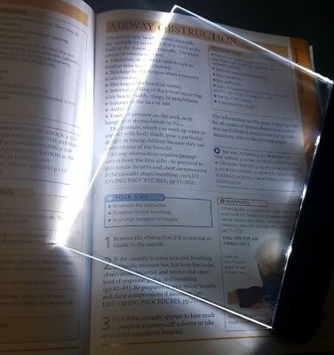 Book Light, LED Led reading book light , NEW Free Postage ( No Packaging )
