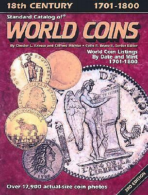 Standard Catalog of World Coins, 1701-1800  (ExLib)