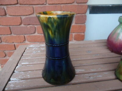 Antique Early Hoffman Australian Pottery Waisted Vase