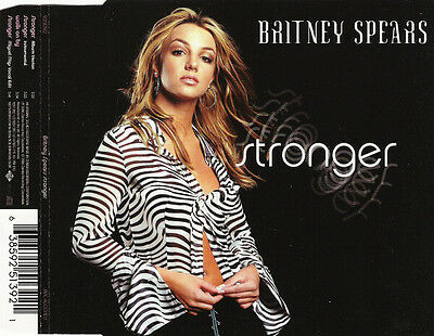 BRITNEY SPEARS - Stronger 4TR CDM 2000 POP / EU Print