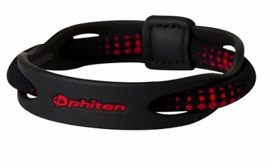 Phiten X50 19cm RAKUWA Titanium Bracelet HYBRID Sports From japan