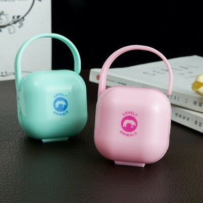 Infant Kid Baby Travel Soother Pacifier Dummy Storage Case Box Cover Holder Hot