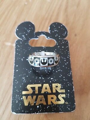 Disney Parks Exclusive Authentic Star Wars Ring Size 10 Rebels Empire Galactic
