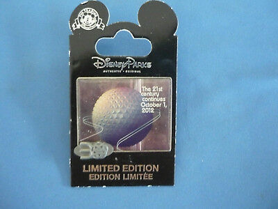 30 YEARS   Disney Pin  Epcot Ball OCTOBER 1 2012 EXCLUSIVE Limited  New on Card