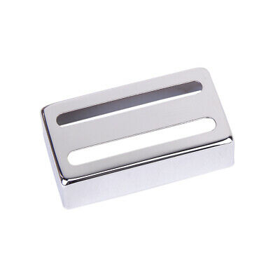 Chrome Plated Copper Guitar Humbucker Pickup Cover fits 50mm & 52mm Pickup