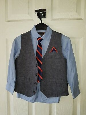 Boys Shirt, Tie and Waistcoat by Next age 4-5