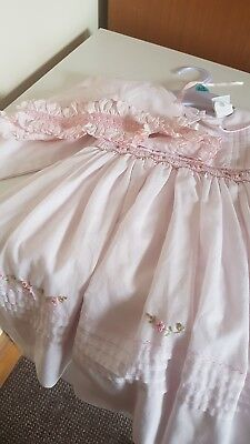 Sarah louise designer dress age 9/12 mths