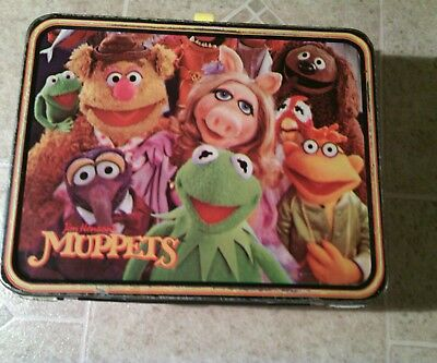 1979 Muppet Lunch Box/No thermos
