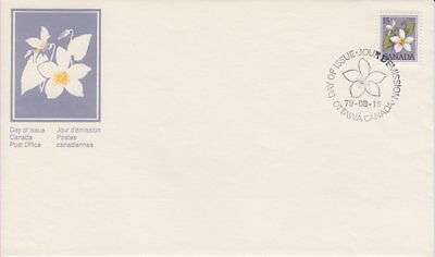 Canada #787 15¢ Floral Definitive First Day Cover