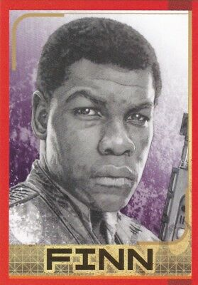Star Wars - Finn Card No.130- The Last Jedi