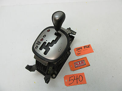 fits 02-06 ACURA RSX SHIFTER CONSOLE AUTOMATIC TRANSMISSION AUTO HANDLE KNOB OEM