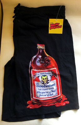 2006 Wacky Packages Pajama Shorts Bloodweiser New With Tags Xl Official Topps