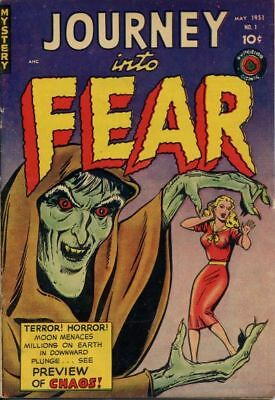 Journey Into Fear Full Set On Dvd Superior Comics 1951-4 Vintage Pre Code Horror