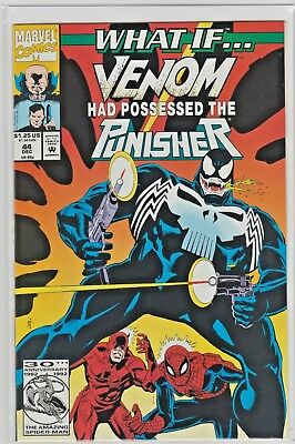 Marvel Comics WHAT IF #44 Vol 2 VENOM Had Possessed The PUNISHER NM- 9.2