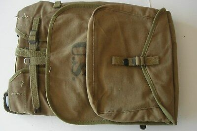 M-1928 Haversack and Meat Can Pouch Boyt 1942 Excellent Condition
