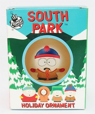 """Lot of 3 STAN SICK South Park Holiday Ornament Ball 4"""" Xmas Tree Decoration NEW"""
