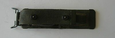 US Army WW2 CS-35-A Canvas Tool Pouch and Tools TL-29 and TL-13-A