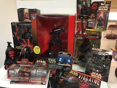 Star Wars Darth Maul Collector's Lot 15 pieces Episode 1 (TOY1-384)