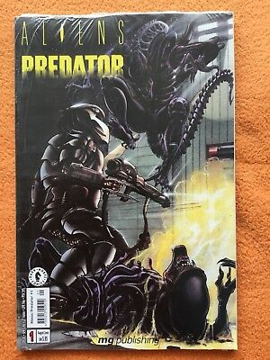 Aliens Predator AVP Nr. 1 + 0. mg publishing / Dark Horse. Neu!