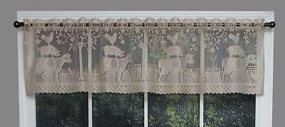 Farm House Lace Window Valance by Heritage Lace