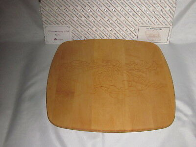 Longaberger 1993 Holiday Hostess HOMECOMING WoodCrafts LID ONLY Classic