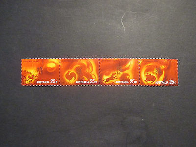 2----2002   Christmas  Island -Year  Of  The  Horse 4 Stamp  Issues-Used  A1