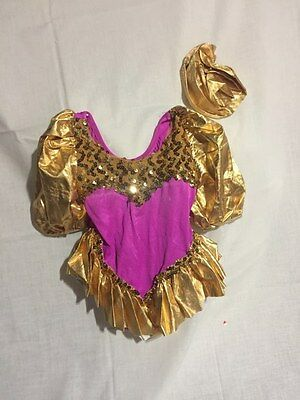 Childs Small Dance Costume