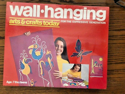 NEW Sealed 1971 Hasbro Arts & Crafts Today -- Wall Hanging
