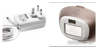 Philips BRI956 954 953 950 Prestige Ipl Armpit Attachment & Genuine UK Charger