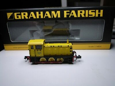 Graham Farish 371-054 Class 04 Diesel Shunter D2332 'Lloyd' NCB Yellow