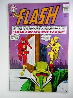 The Flash #147 Vg/f 5.0 (Dc 1959 Series) 2Nd Reverse Flash (Professor Zoom)