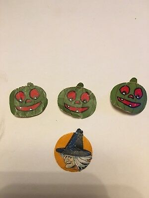 Vintage Halloween Seals  From The 20's