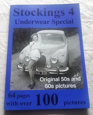Stockings Magazine No 4 Nostalgia Publications Original pictures from 50s & 60s