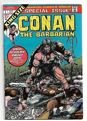 King-Size Conan The Barbarian # 1 Special Issue Barry Smith High Grade Book 1973