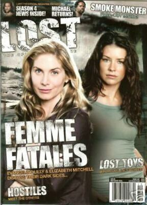 Lost Official Magazine - Evangeline Lily & Elizabeth Mitchell Cover #13A Special