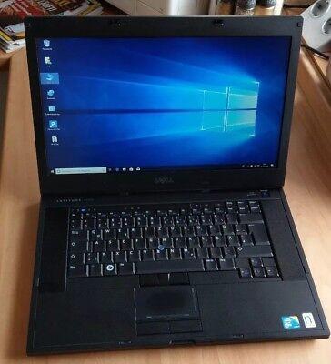 "Dell Latitude E6510 15,6"" 1600x900 Intel i5-520M 2,4GHz 8GB 320GB DVD Win10"