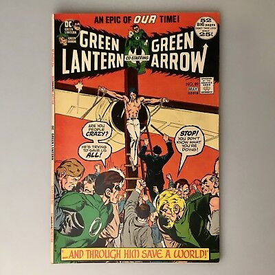 Green Lantern #39 - Great Neal Adams Cover - Sharp Book - EXTREMELY LOW PRICE -
