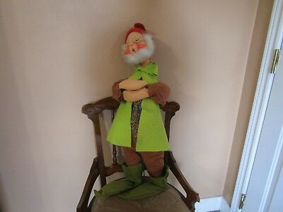 """Vintage Annalee Christmas Elf - 1979 - Approximately 30"""" Tall - Meredith Nh Usa"""