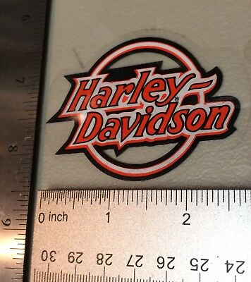 Small Harley-Davidson Older Inside Window Decal.Vintage Harley Sticker.2 X 3