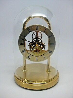 Seiko gold skeleton mantel clock