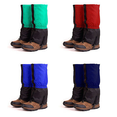 Men Women Skiing Leg Legging Gaiters Leg Protector Waterproof Boot Shoes Cover