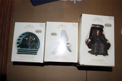 Lot of 14 Hallmark Keepsake Star Wars Ornaments, All New in Boxes c2000s 4